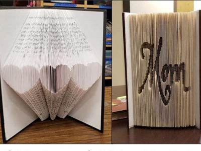 POSTPONED - The Art of Book Folding